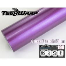 Gloss French Plum, Глянцевая фиолетовая, размер 1,52м х 20м
