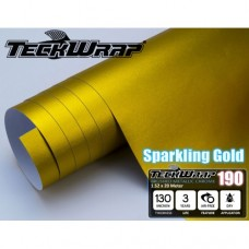 Sparkling gold / Золотой, размер 1,52м х 20м
